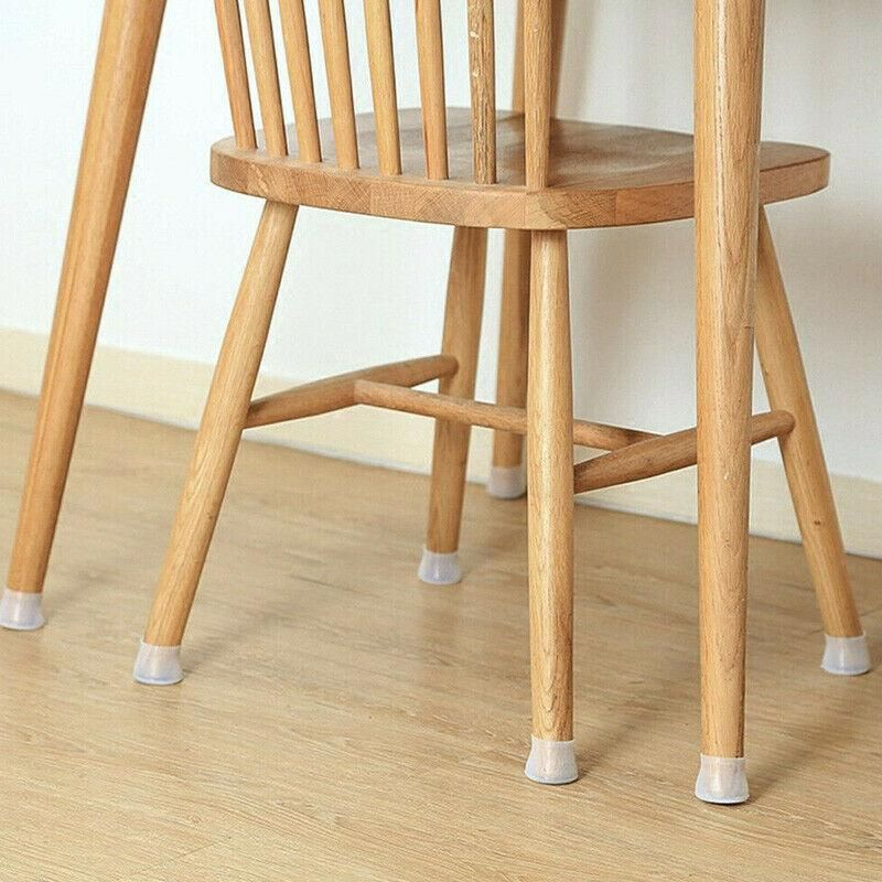 Silicone Furniture Leg Protector, Dining Room Chair Foot Pads
