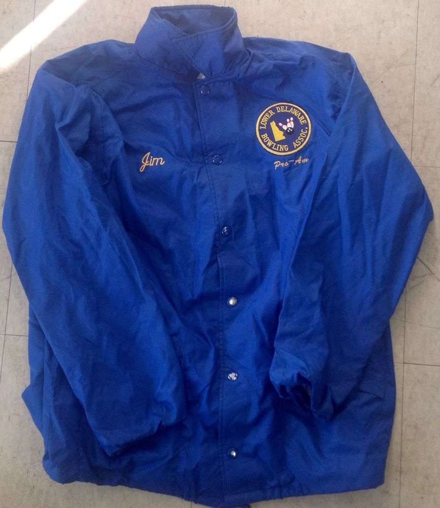 "Lower Delaware Bowling Association ""Jim"" Pro-Am Vintage Hilton Bowling Jacket"