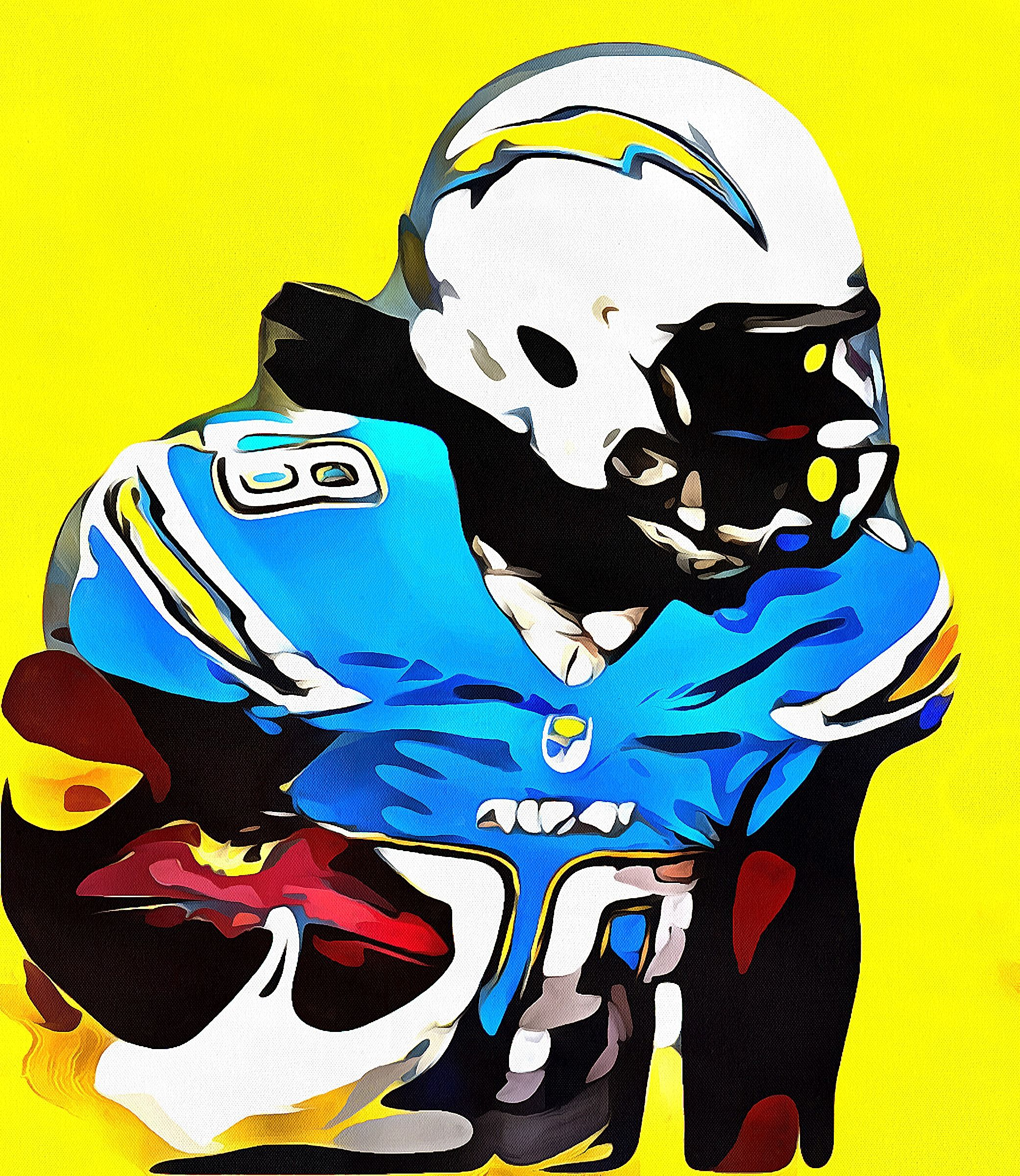 Melvin Gordon Chargers Rb Nfl Character Fictional Characters