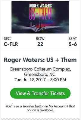 Roger Waters Tickets 07/18/17Greensboro Coliseum Complex Greensboro NC  http://dlvr.it/MkWbPypic.twitter.com/W0IlU7eOLi