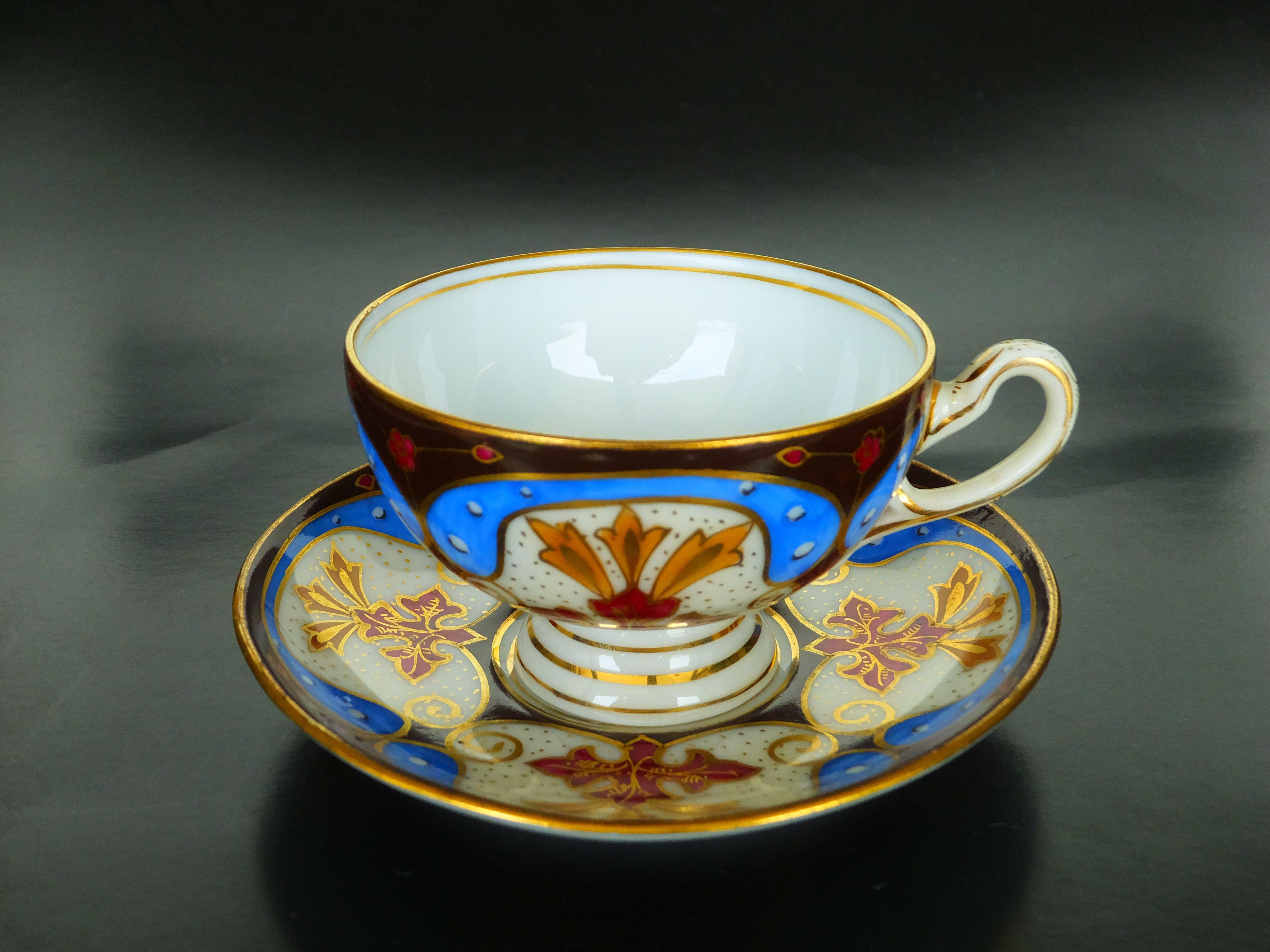 Carl Friedrich Boseck & Co. Haida Bohemia Austria c.1910   Teacup ...
