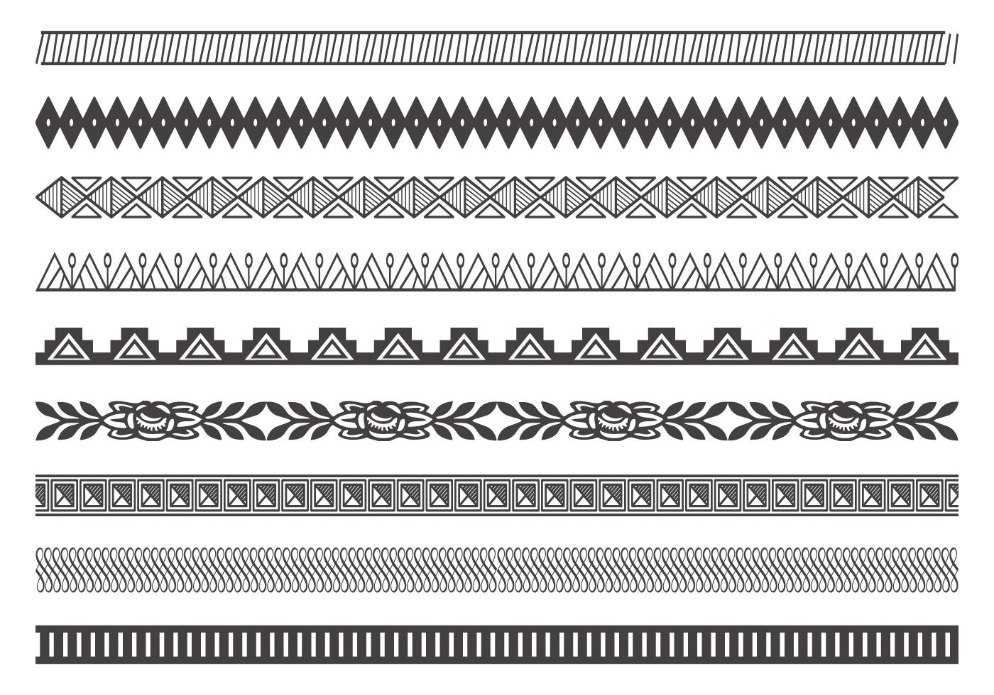 This collection includes hi res decorative borderdivider brushes