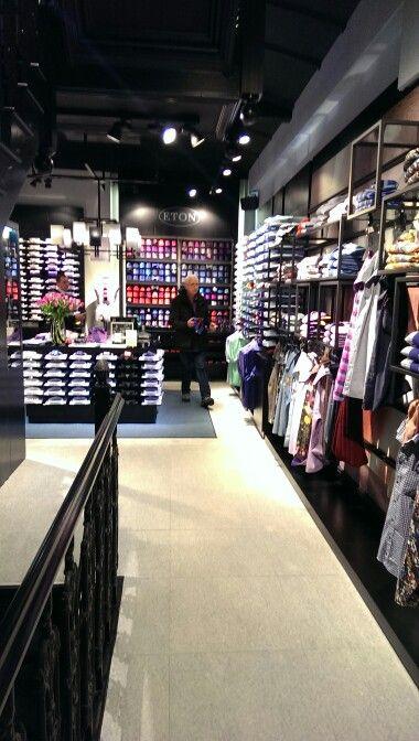 Eton shirts showroom