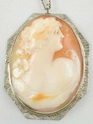 Edwardian white gold mounted carnelian shell antique cameo pendant edwardian white gold mounted carnelian shell antique cameo pendant mozeypictures Image collections