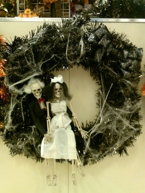 Halloween Wreath Collection Till Death Do Us Part My Michael S