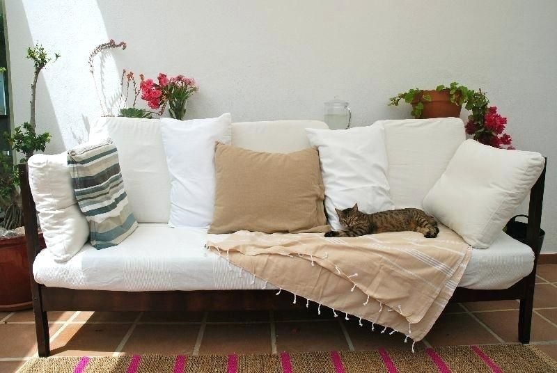 Make Twin Bed Into Daybed Outdoor Sofa From Fjellse Turn