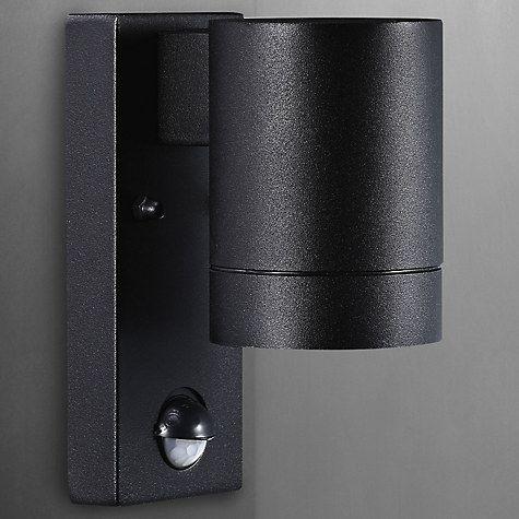 Nordlux tin maxi pir outdoor sensor wall light black blacked buy nordlux tin maxi pir outdoor sensor wall light black online at johnlewis aloadofball Images