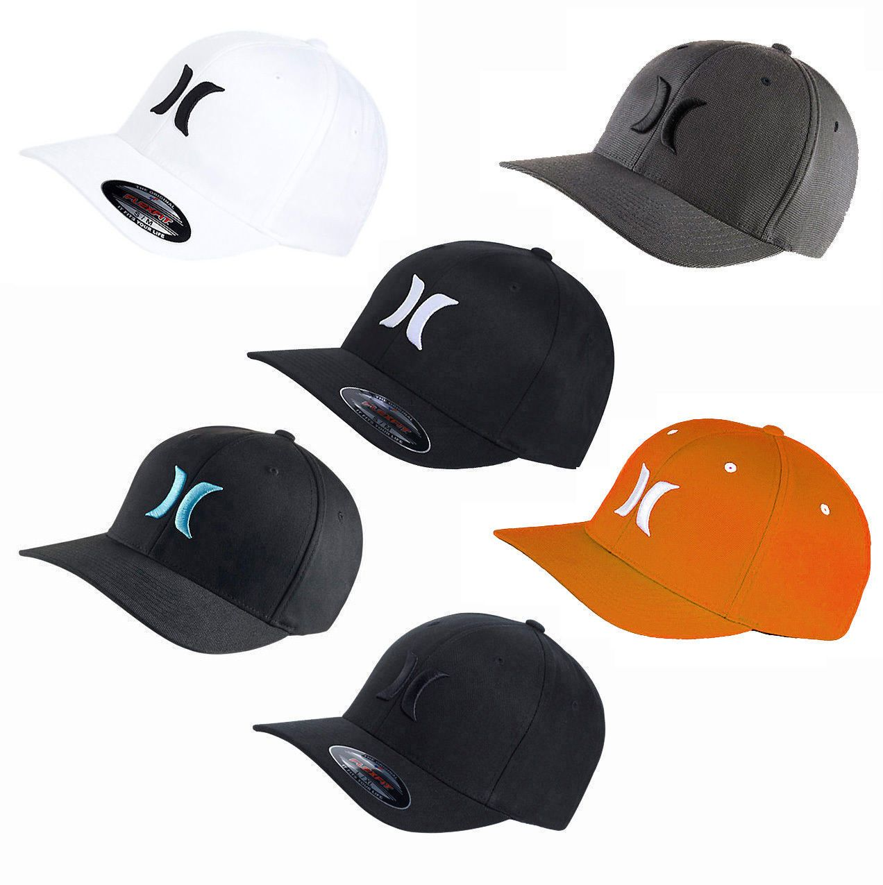 80effef13 Hats 52365: Hurley One And Only Flexfit Hat Cap Beanie Snapback Surf ...