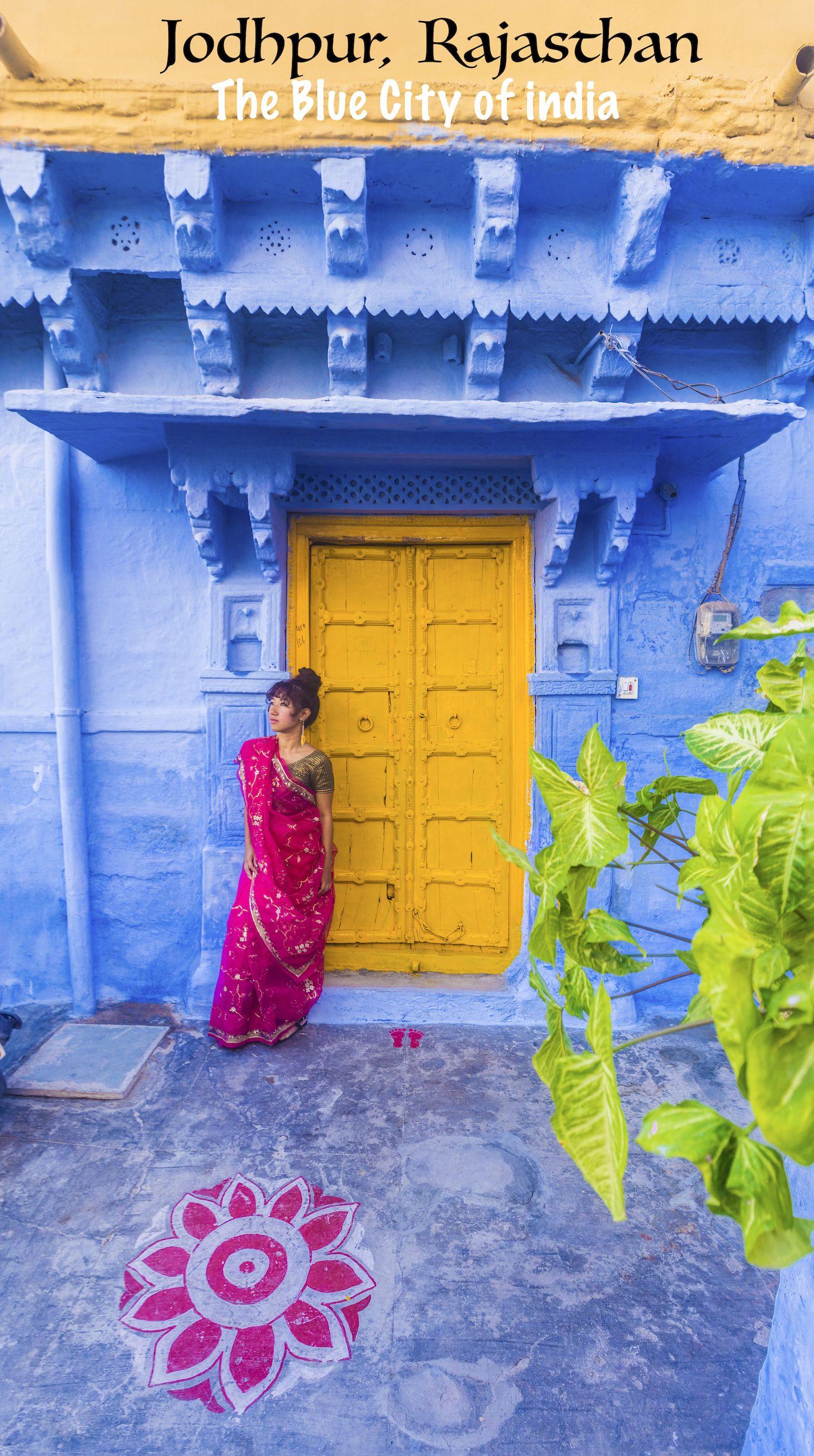 Blue city Jodhpur, Rajasthan, India twobirdsbreakingfree