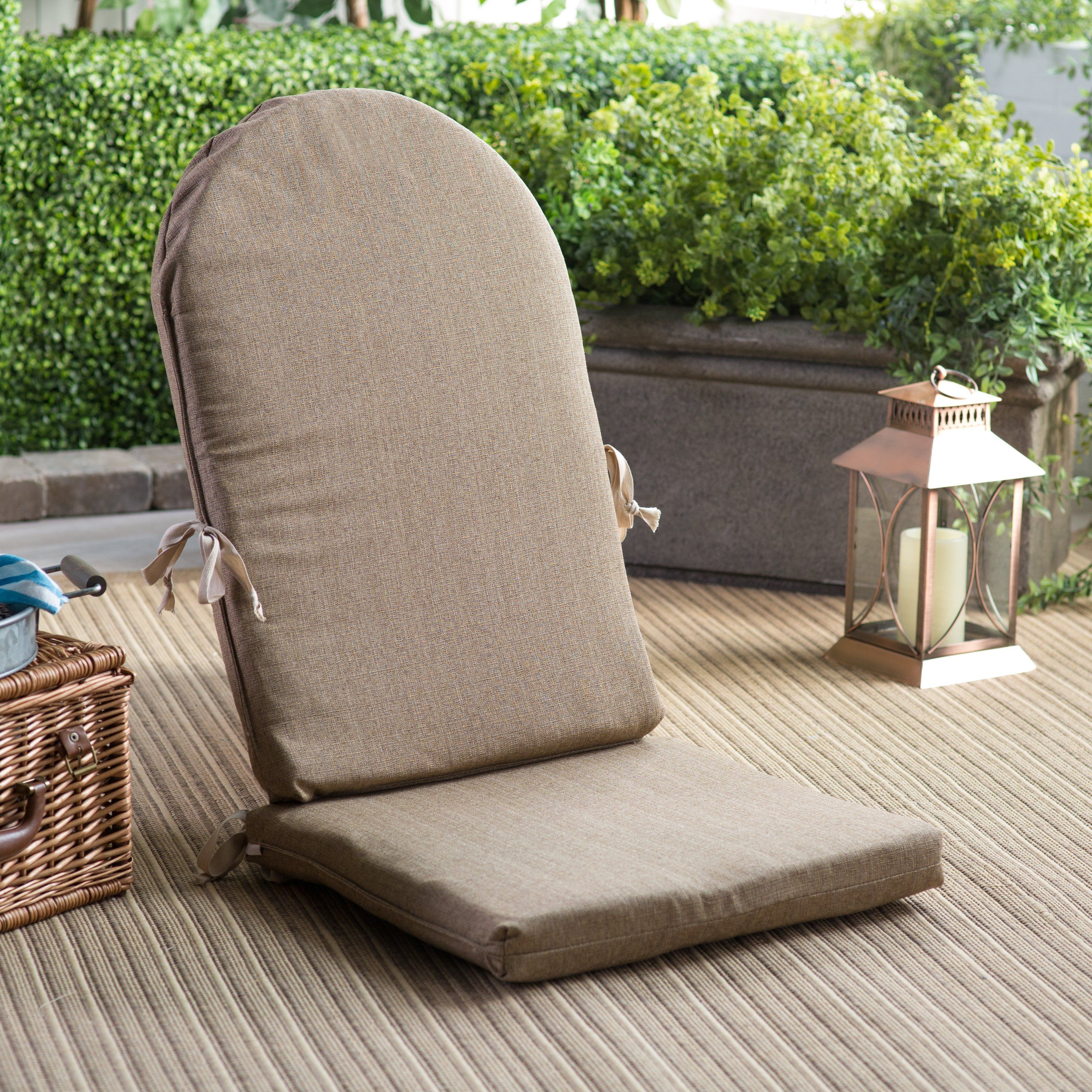 Polywood Sunbrella 46 X 20 In Adirondack Chair Cushion With