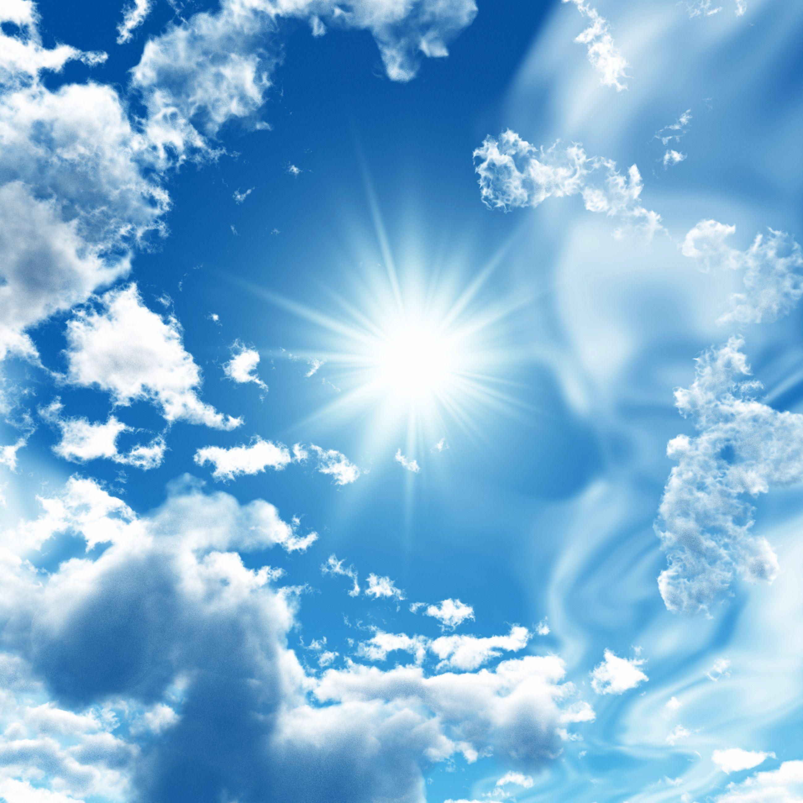 фотопечатью воплощаются картинки на телефон голубое небо остекления используется