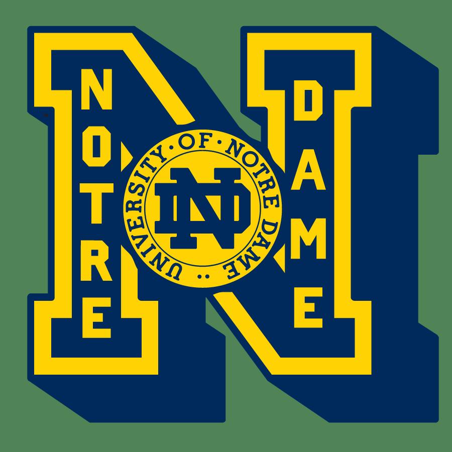 Notre Dame Fightin Irish Frank Ozmun Graphic Design Notre Dame Fighting Irish Football Fighting Irish Football Notre Dame Irish