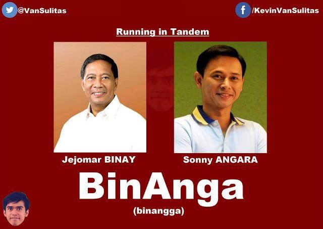 bd6657fd6cc661c421a2f3af3060f6c2 binay meme joke 2016 pinoy jokes pinterest tandem, election