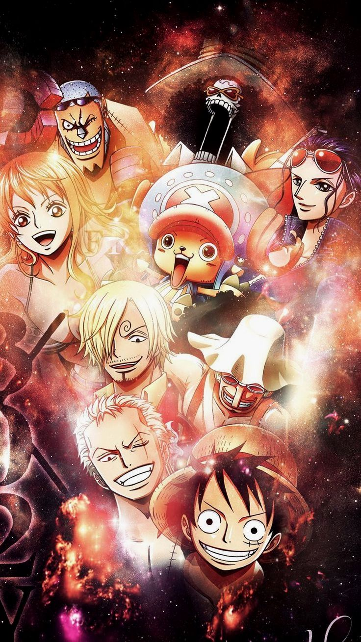 One Piece Gif Anime Chibi Art Wallpaper