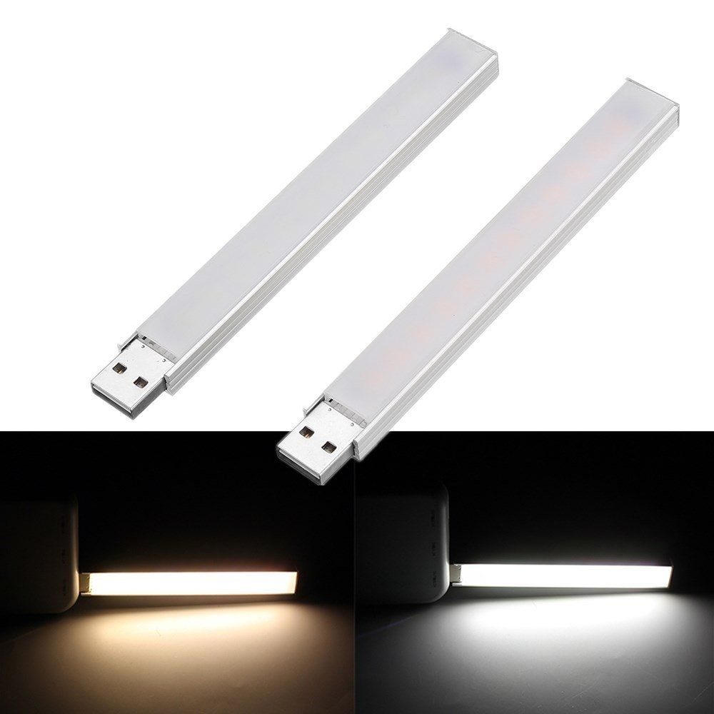 Dc5v 4w Smd5730 12 Led Rigid Strip Light With Touch Switch Stepless Dimming Function For Pc