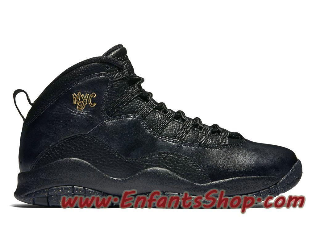 Air Jordan Retro 10 NYC City Pack 310805-012 Chaussures Jordan Basket Pas  Cher Pour