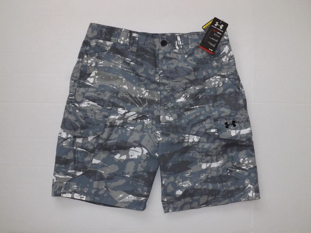 5030071d72 MEN'S UNDER ARMOUR IRONSIDES SIZE 30 CAMO BATTLESHIP CARGO SHORTS 1235386  NWT #UnderArmour #Cargo