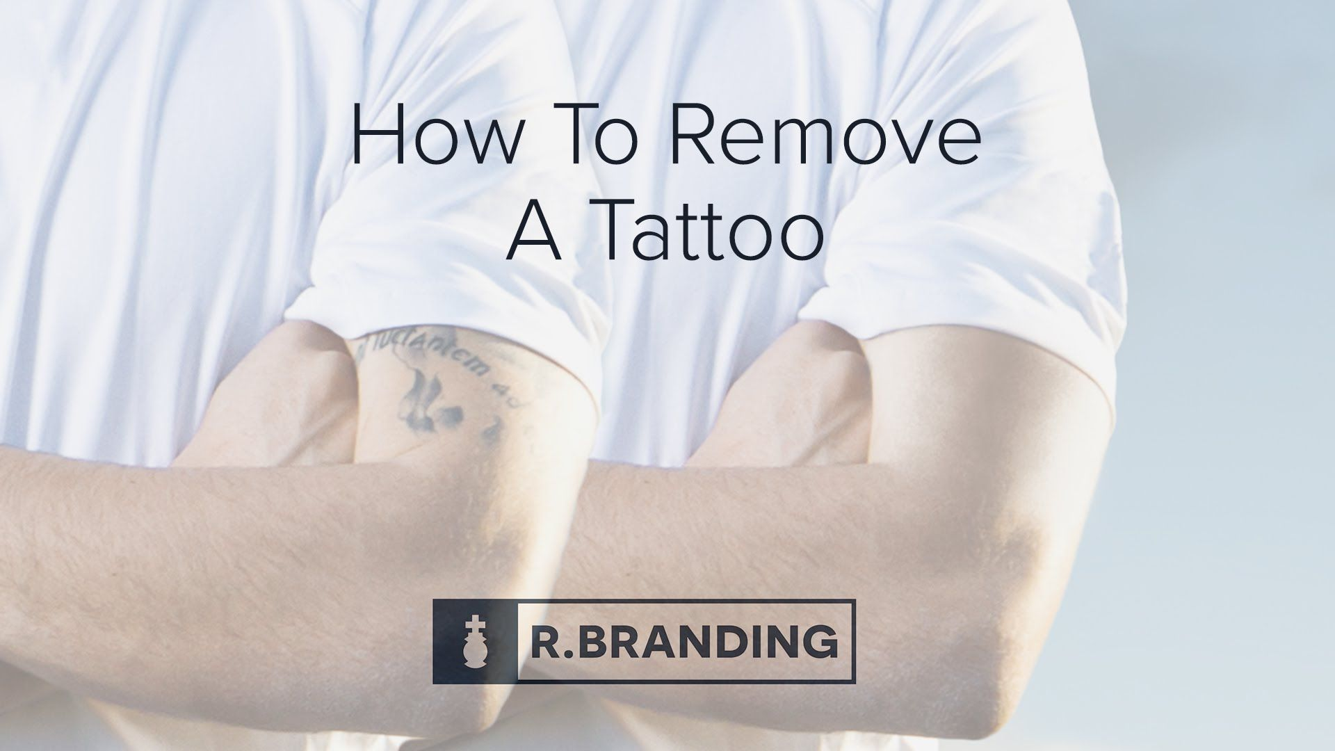 How to remove a tattoo using r branding how
