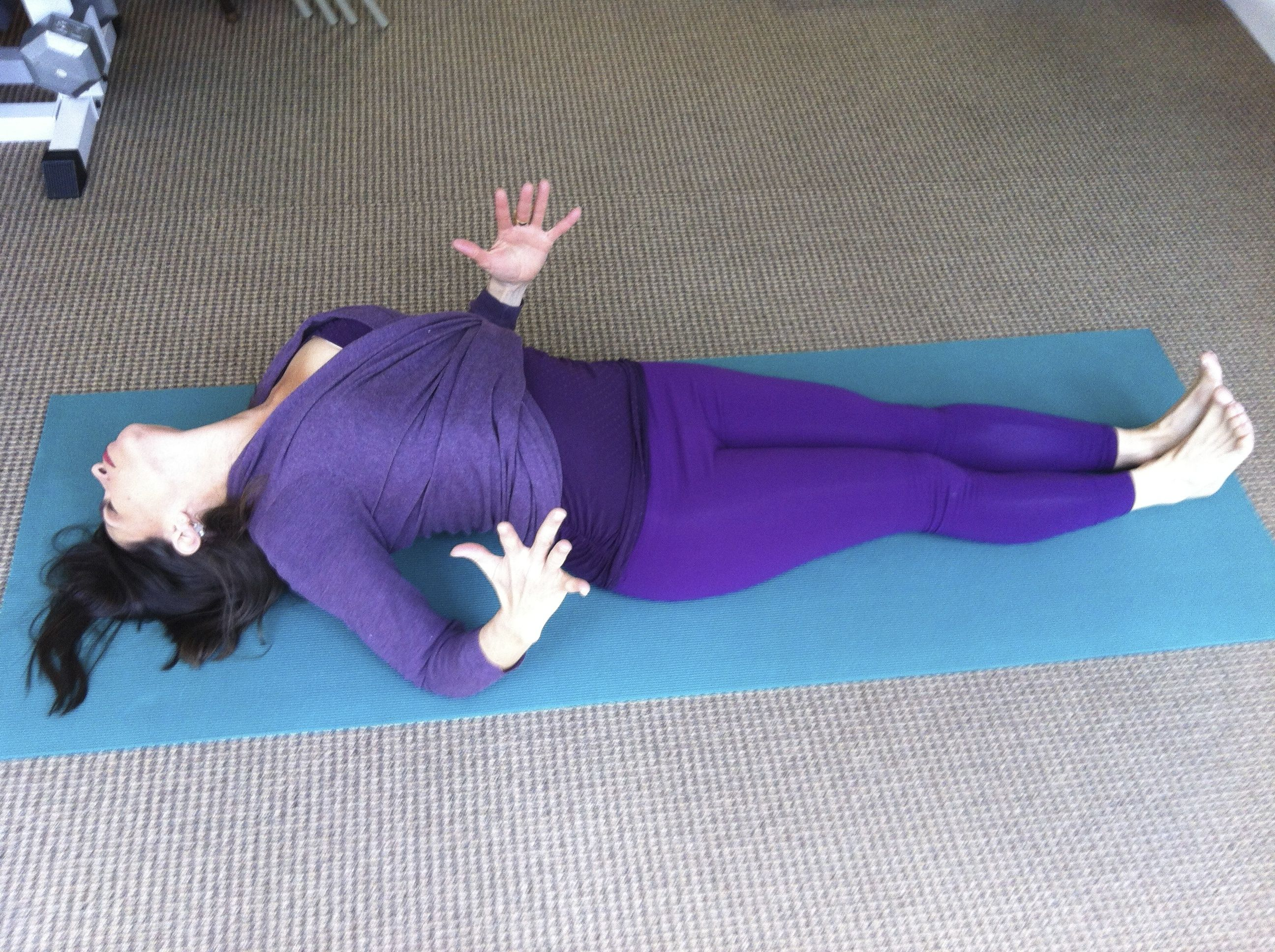 Use Fish Pose To Strengthen Your Upper Back And Correct