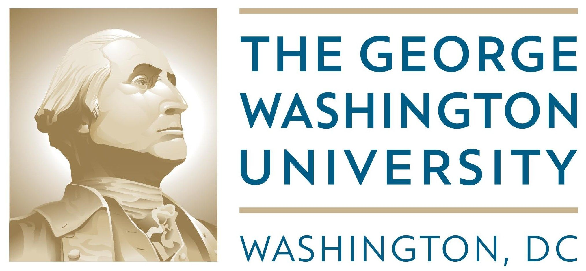 GW Washington University Logo Download Vector