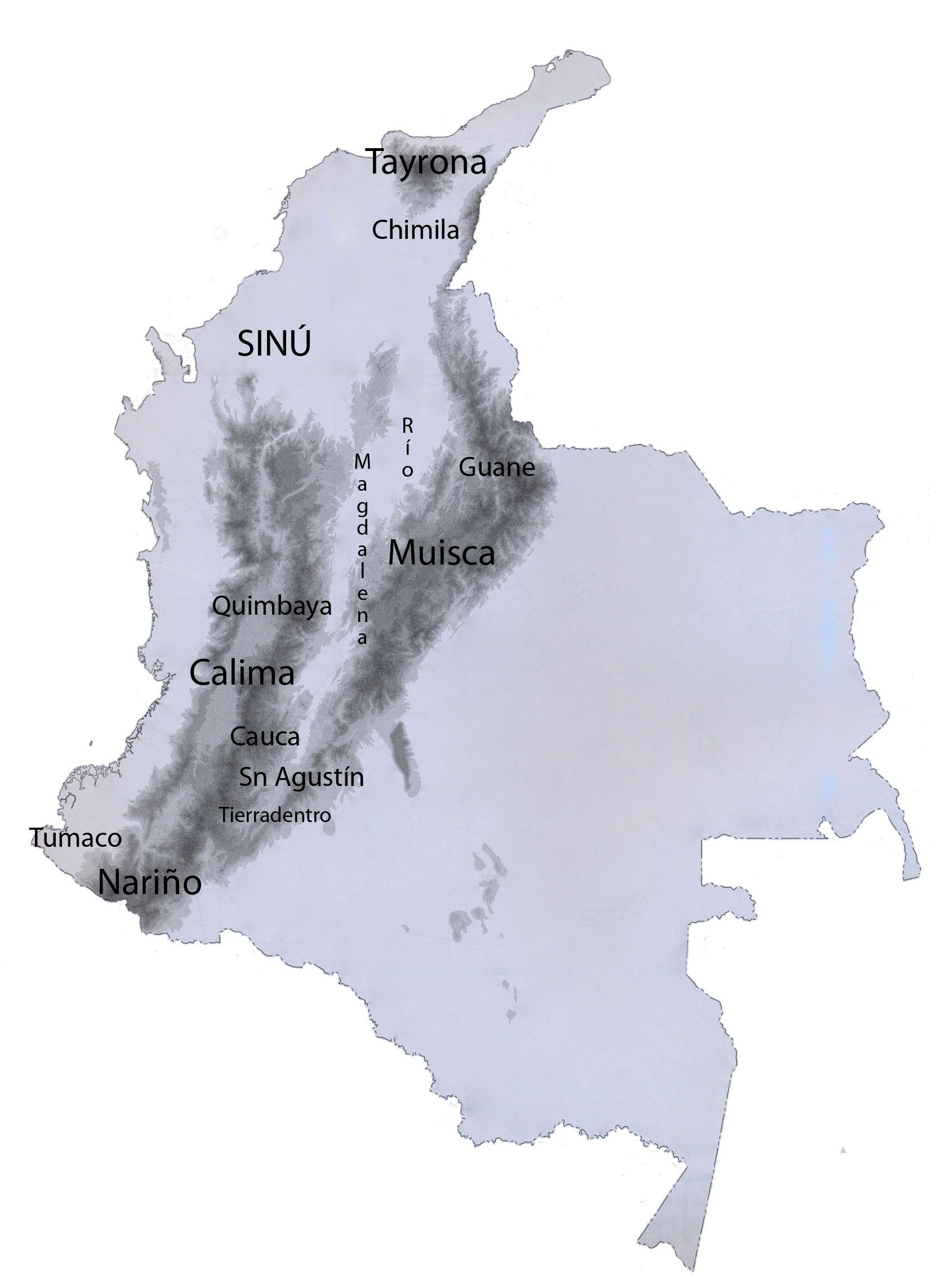 Colombia sur amrica zonas arqueolgicas otra mirada a colombia y colombia sur amrica zonas arqueolgicas otra mirada a colombia y amrica latina a fandeluxe Images
