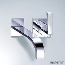 Dornbracht MEM Wall-mounted single-lever basin mixer w. aerator, projection 200 mm chrome - 36812785-00