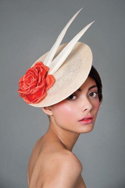 226e96cb Rose Disc | Hats Of The World | Fascinator hats, Hats, Ascot hats