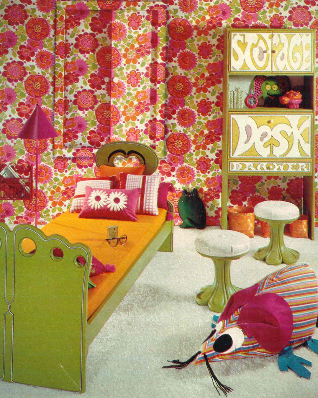 Seventeen Bedroom The Drexel Plus One Bedroom From Seventeen Magazine 1970 Google