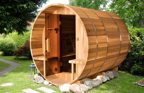 Udendørs Sauna Winnipeg L 235 X B 183 X H 192 Cm Sauna