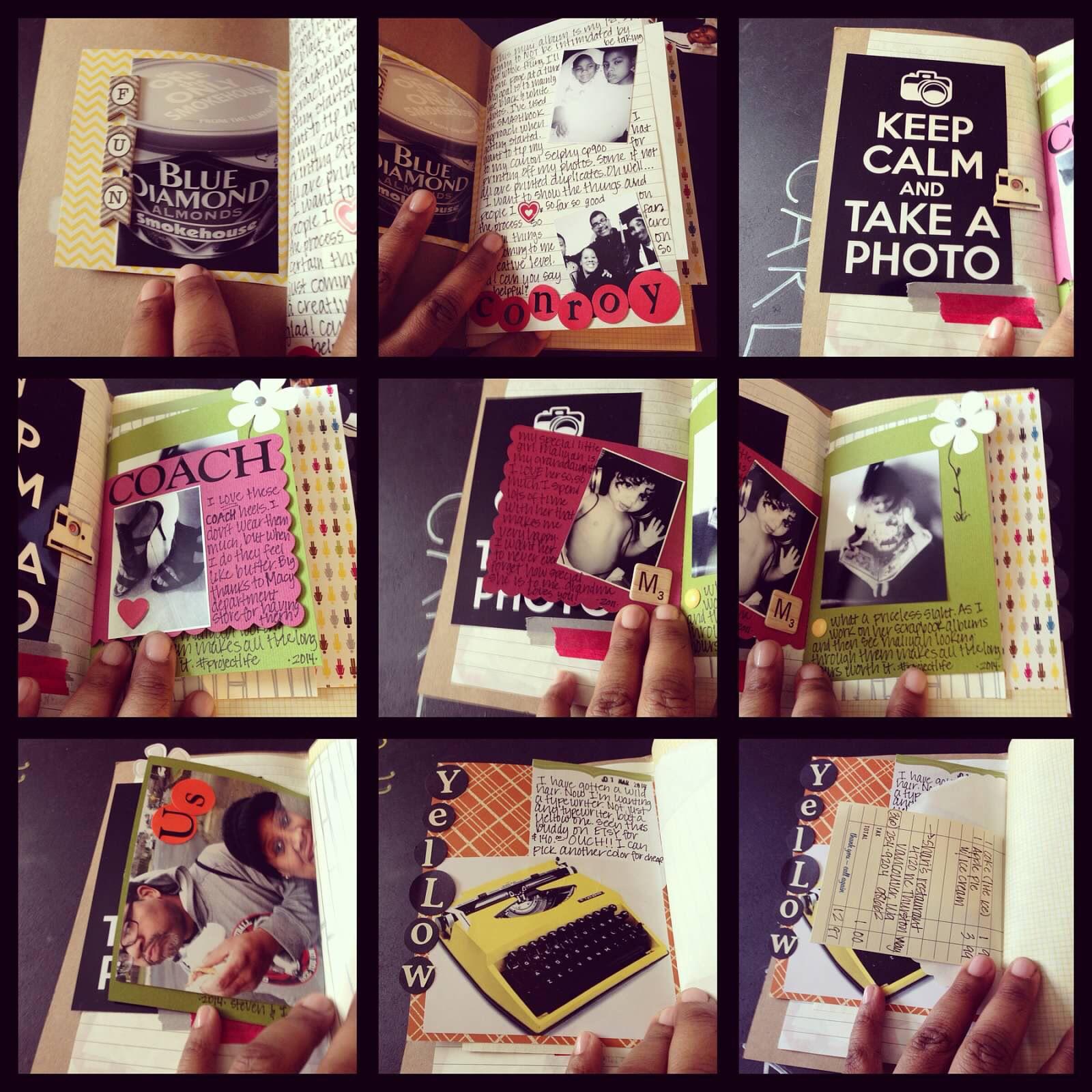 #artjournal #scrapbook #scrapbooking #smashbook #projectlife #creative #memories #photojournal #family #minibook