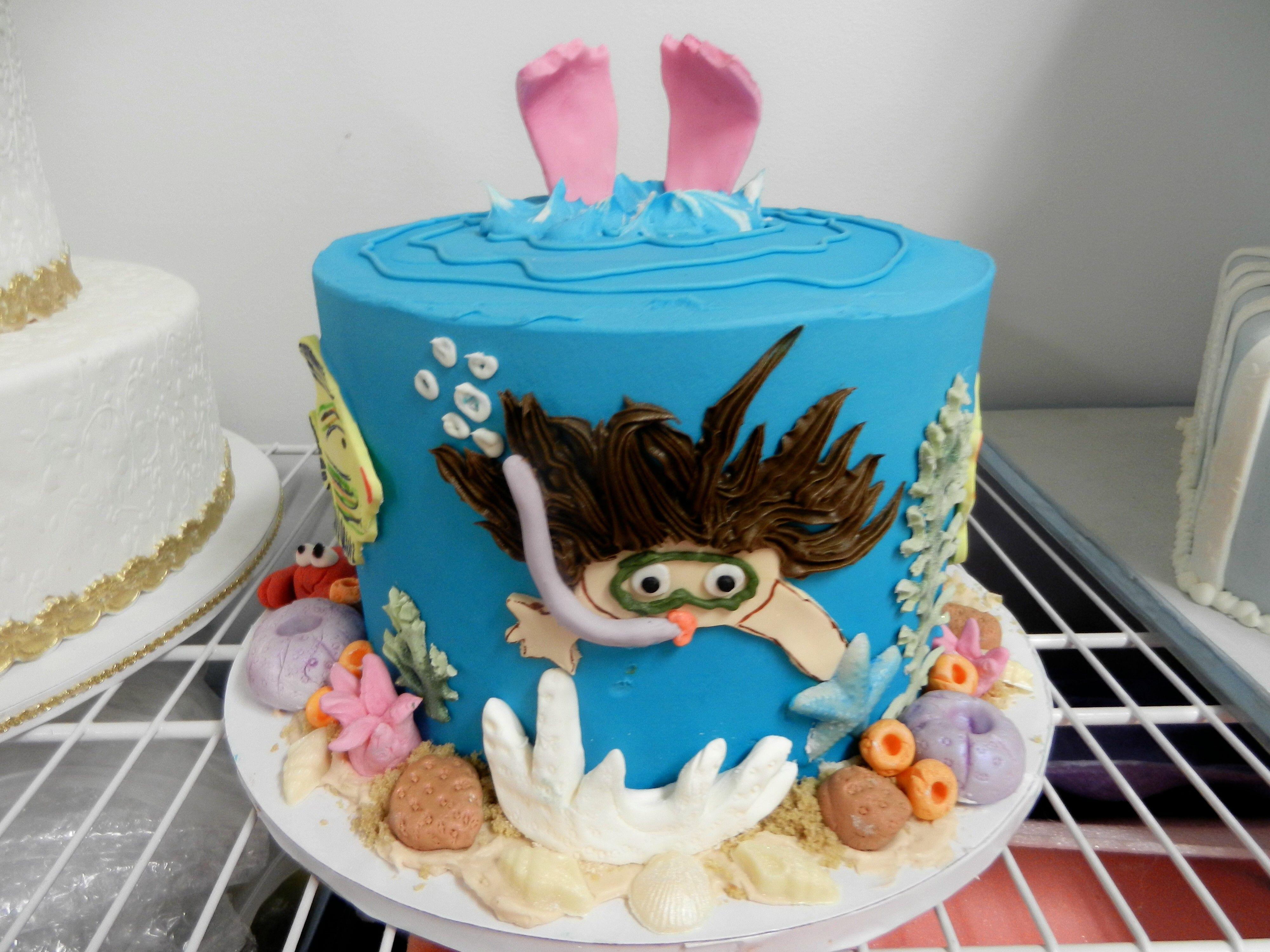Summer Birthday Cake Cheesecake Etc