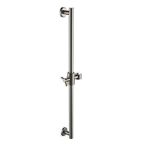 Taozun Sus 304 Stainless Steel Bathroom Hand Shower Slide Bar Stainless Steel Bar Adjustable Sliding Stainless Steel Bar Stainless Steel Bathroom Shower Heads