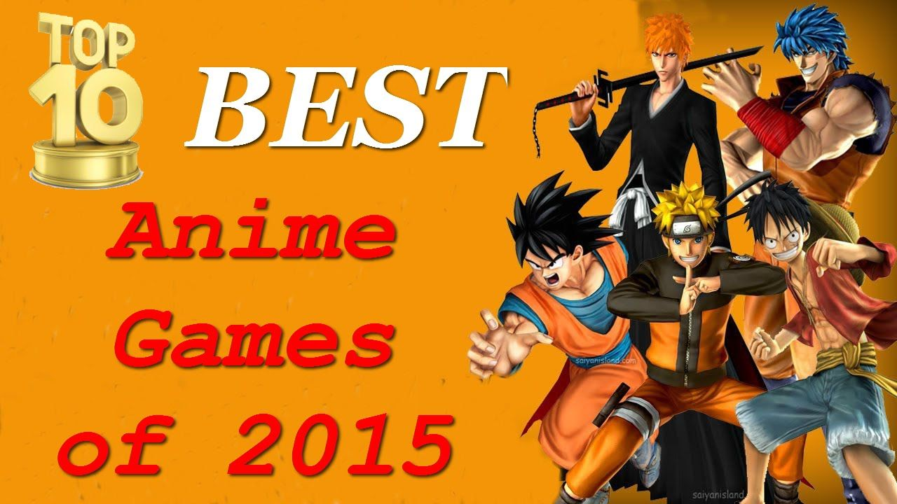 Pin by games4anime العاب الانمي اونلا on Top 10 Best Anime