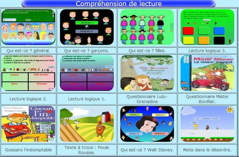 jeux de lecture | Jeux de lecture, Lecture et ...