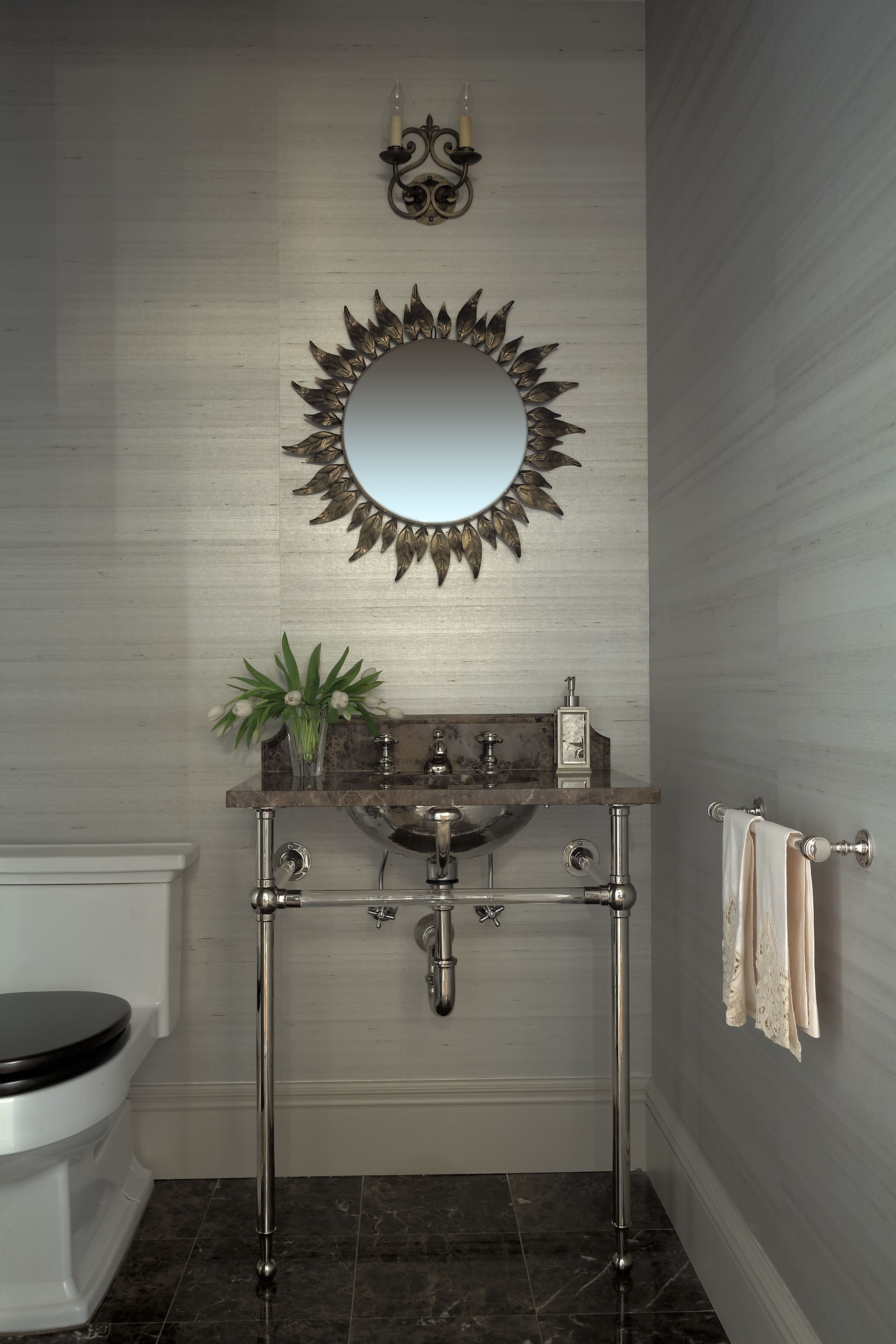 Transitional Bathroom | Designed by Pier, Fine Associates | To explore more of our projects, visit www.pierfine.com