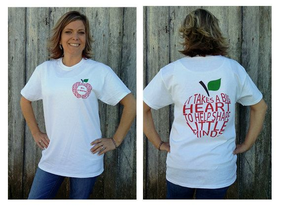 Rockin New Personalized Teacher Shirt Heart Shirt Teacher Shirt