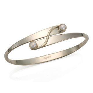Pearl Silver Grand Swing Bracelet