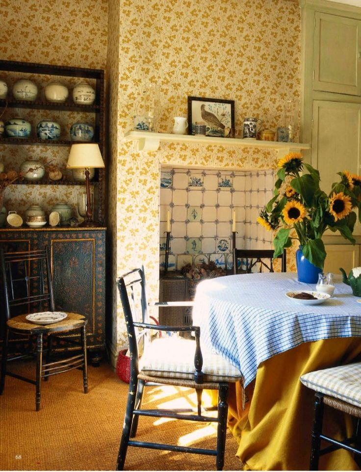 Country cottage ingl s decoraci n est lo ingl s casa - Estilo ingles decoracion interiores ...