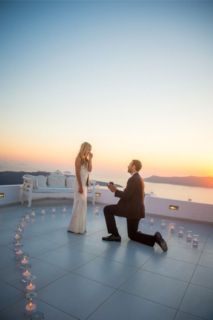 He Pulled Off An Elaborate Surprise Proposal In Greece Proposals