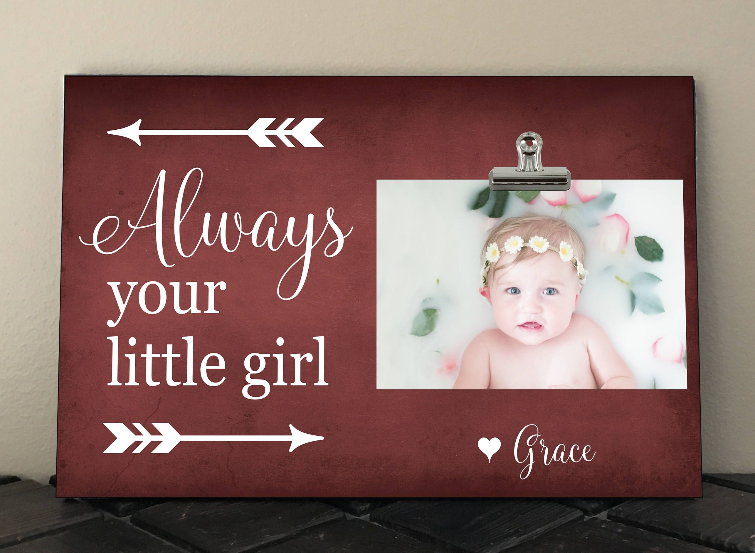 ALWAYS your little GIRL, Perfect for Mothers or Fathers Day ...