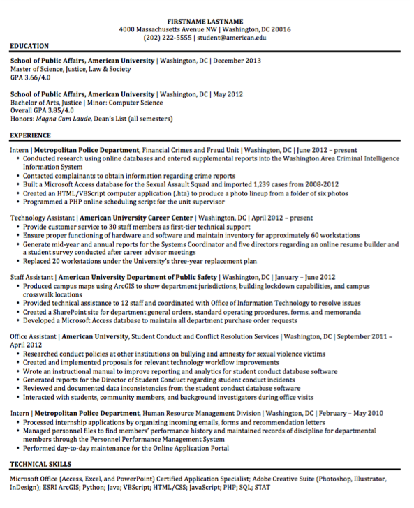 Example Of Technology Assistant Examples Resume Cv