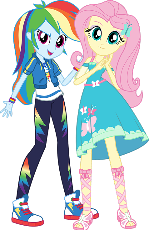 1699229 - Clothes, Equestria Girls, Fluttershy, Official, Rainbow Dash,  Safe, Simple B… My Little Pony Characters, My Little Pony Friends, My  Little Pony Drawing