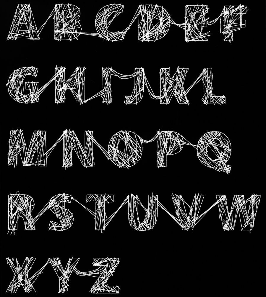 halloween web font