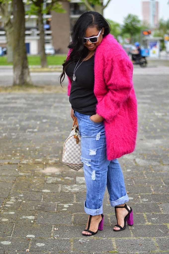 Supersize my Fashion: Pink Fluff