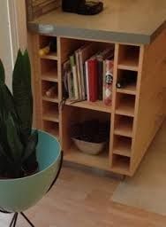 Image result for rack for book and wine