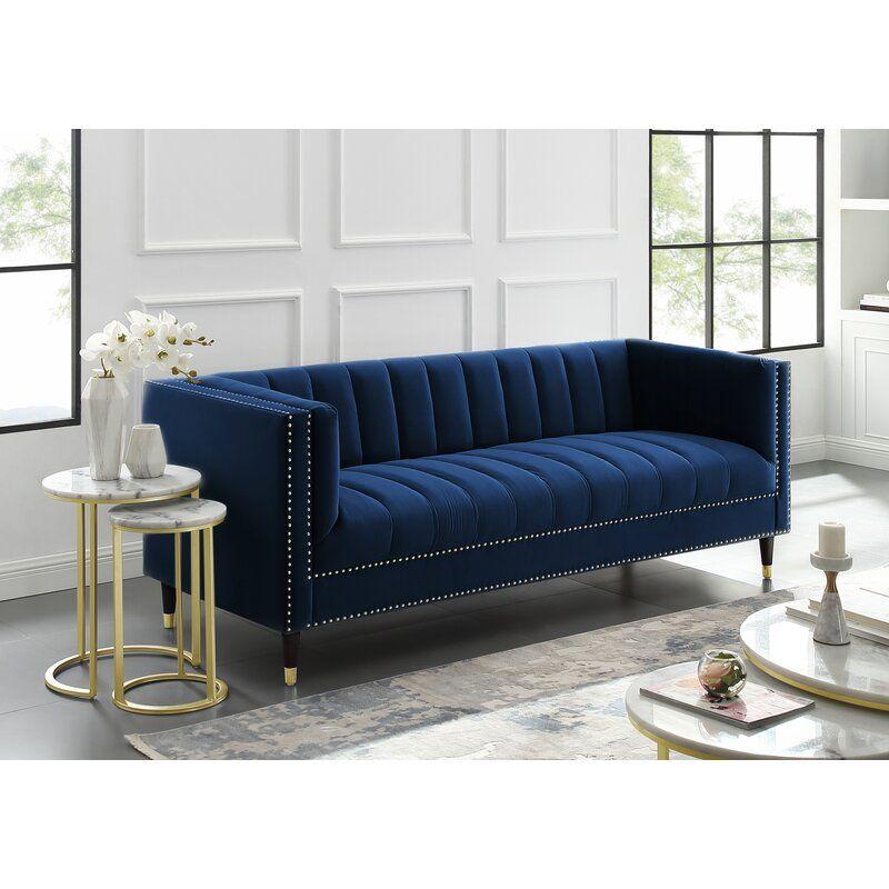 Nicole Miller Bahara Sofa Wayfair In 2020 Sofa Upholstery Elegant Sofa Living Room Sofa