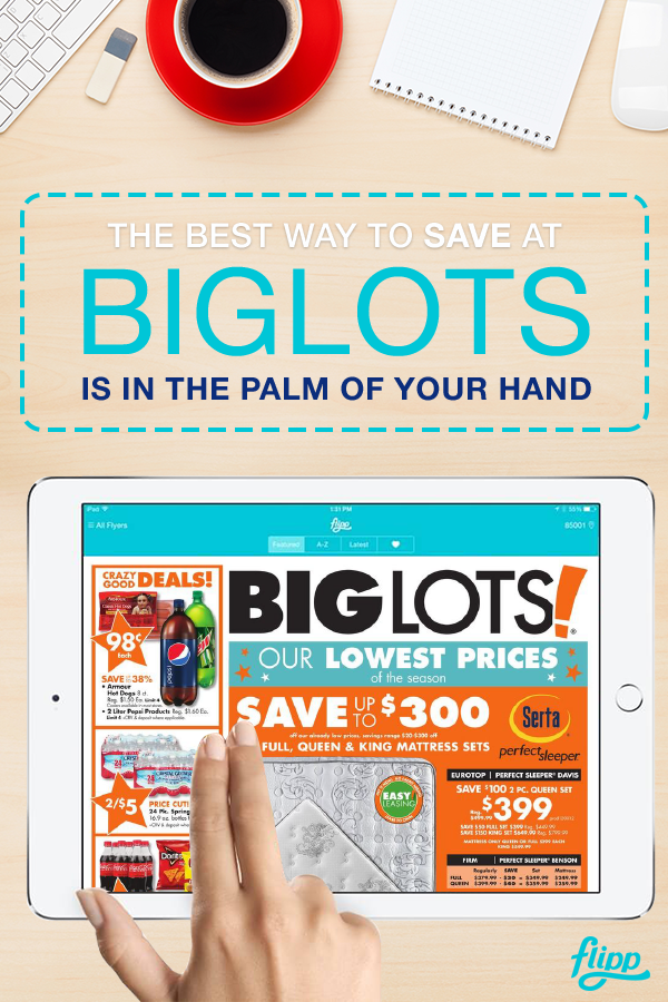 Save big at your favorite stores, like Big Lots, Walmart, Home Depot