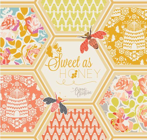 Sweet As Honey Fat Quarter Bundle - Bonnie Christine for Art Gallery - 20 FQs - 5 Yards Total