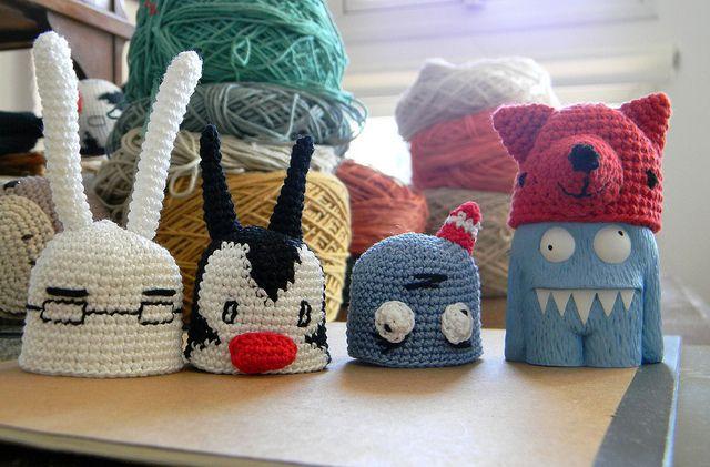 Amigurumi Crochet Personajes : Personajes liniers pica pau para proyectolga crochet
