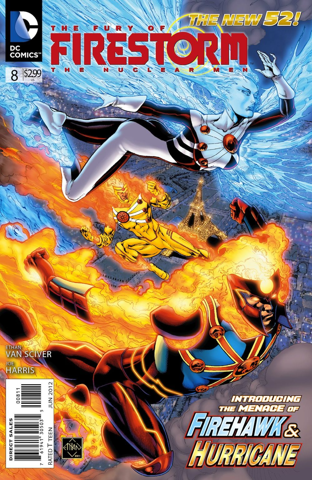 PREVIEW: THE FURY OF FIRESTORM: THE NUCLEAR MEN #8
